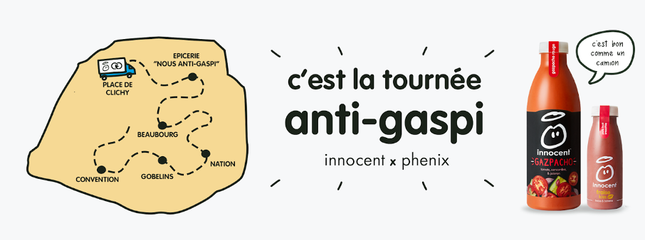 innocent se mobilise contre le gaspillage avec Phenix