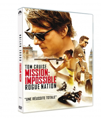 MISSION IMPOSSIBLE ROGUE NATION DEBARQUE EN DVD ET BLU RAY CHEZ PARAMOUNT